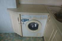 Размеры стиральной машины: высота, ширина, глубина