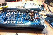 Ремонт автомобильного усилителя звука