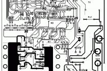 Схема реверсивного пуска асинхронного двигателя