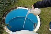 Накопительная емкость для канализации на даче