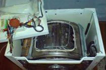 Как провести ремонт стиральной машины своими руками