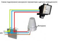 Фотореле для уличного освещения. схема подключения