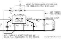 Микросхема lm2596
