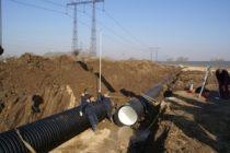 Гофрированная двухслойная труба для канализации