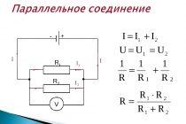Параллельная схема соединения