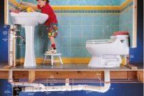 Приспособления для промывки труб канализации
