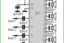 Схемы усилителей звука на микросхемах серии tda