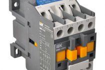 Принцип работы электромагнитного контактора