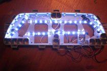 Как самостоятельно сделать подсветку панели приборов в автомобиле светодиодами