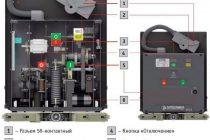 Элегазовые выключатели 110 кв