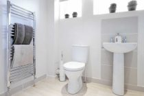 Полотенцесушители в интерьере ванной комнаты