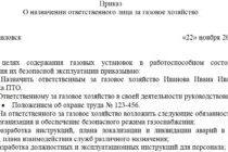 Приказ о назначении ответственного за электрохозяйство. образец 2020