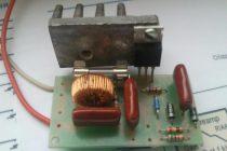 Симисторный регулятор мощности своими руками