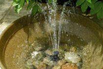 Какой насос подойдет для садового фонтана