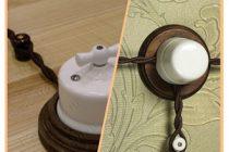 Электропроводка под старину в деревянном доме личный опыт