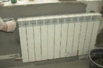 Монтаж и установка батарей отопления в частном доме