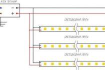 Светодиодная лента на 220в