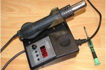 Термофен для пайки своими руками и детали для изготовления