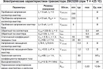 Транзистор 2sc5200