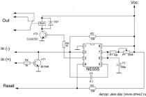 Подробное описание, применение и схемы включения таймера ne555