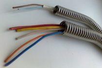 Виды и особенности применения металлорукава для кабеля
