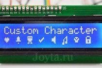 Текстовый экран 16×2 / i²c