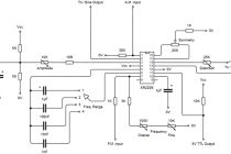 Генератор сигналов xr2206 (конструктор)