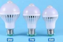Подключение и работа светодиодных ламп с датчиками движения