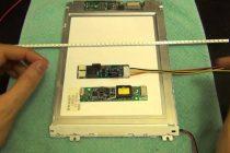 Проверка, ремонт и замена ламп подсветки монитора своими руками