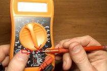 Как проверить сопротивление мультиметром