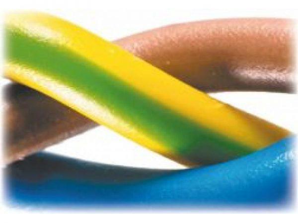 Трехжильный электропровод