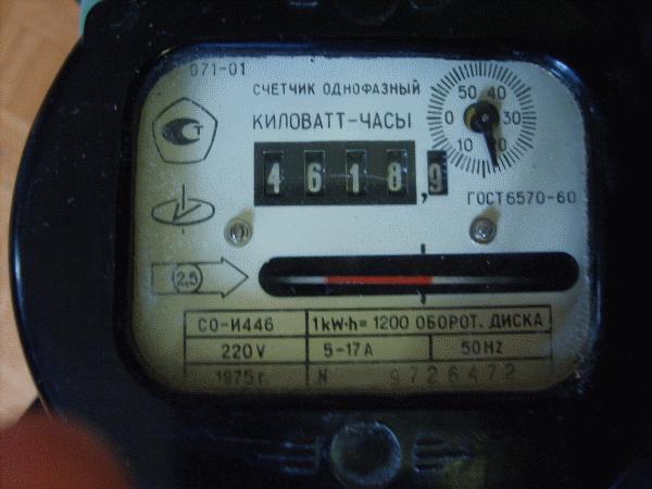 Электросчетчик