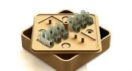 коричневая коробка