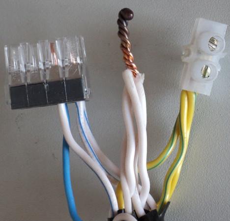 Обжатый кабель