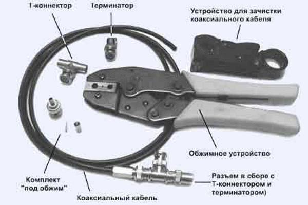 Обжимное устройство