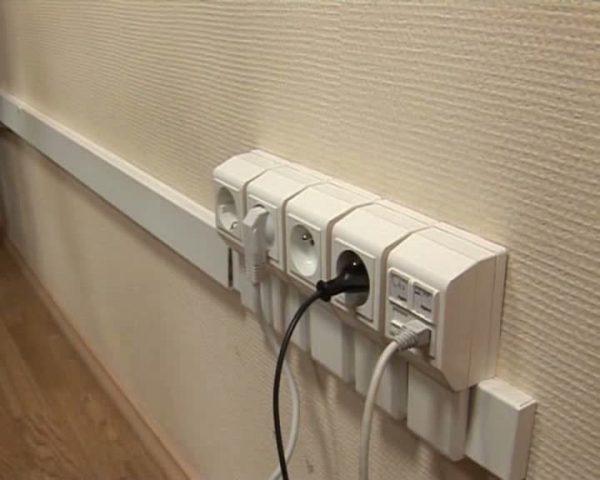 Провода в кабель-канале