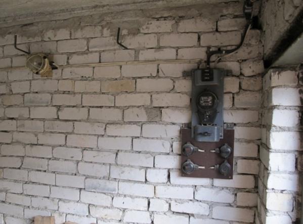 Проводка в гараже