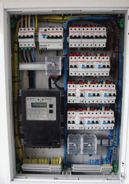 Щиток для автоматов электрических