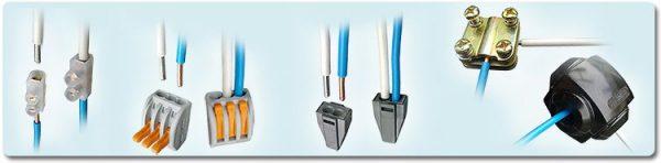 Способы соединения кабелей