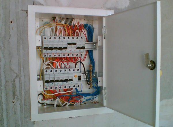 Внешний вид электрического щита
