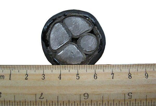 Бронированный алюминиевый кабель АВБбШв