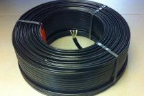 Раскладываем кабель на полу