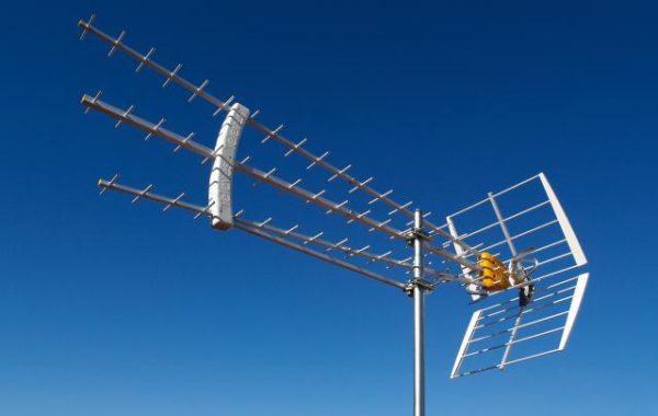 Мощная дециметровая антенна