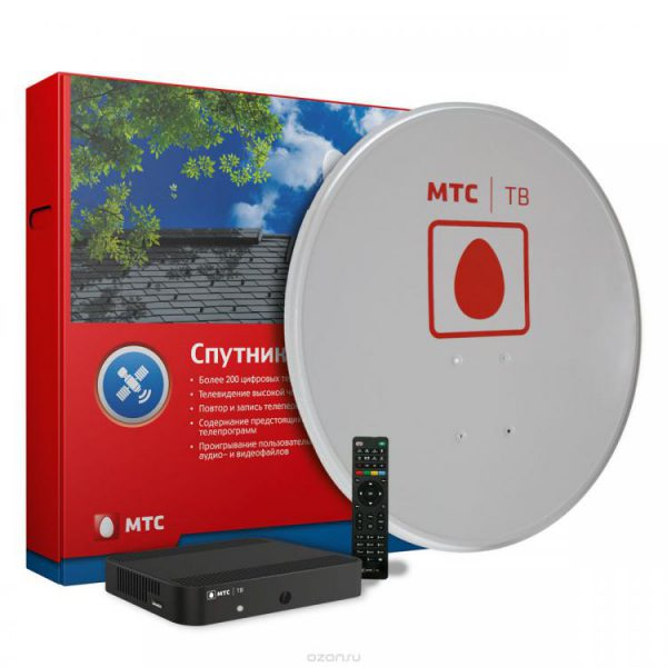Качественное ТВ с помощью спутниковой антенны МТС