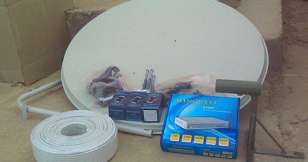 Поэтапный монтаж тарелки для приема сигнала