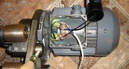 Мотор электрический 3-х фазный для сети 220В