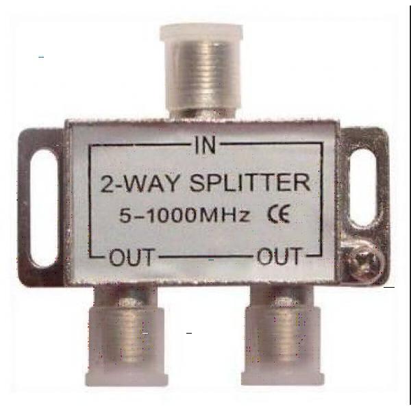 Удлинение кабеля, используя сплиттер