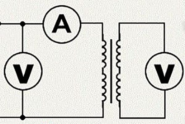 Измерение холостого тока