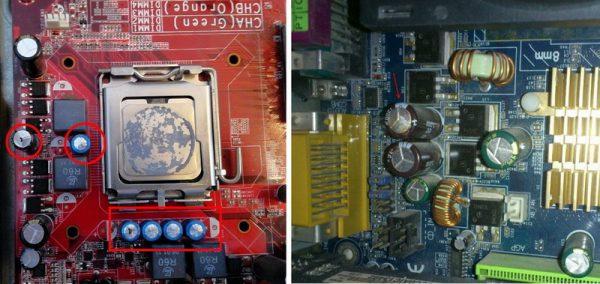 Каждая электронная схема работает с помощью конденсаторов