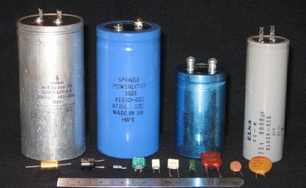 Комбинированные конденсаторы